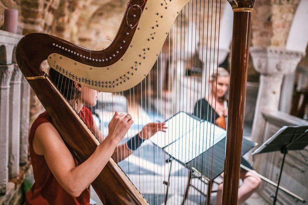 Harpa parte da música erudita secular